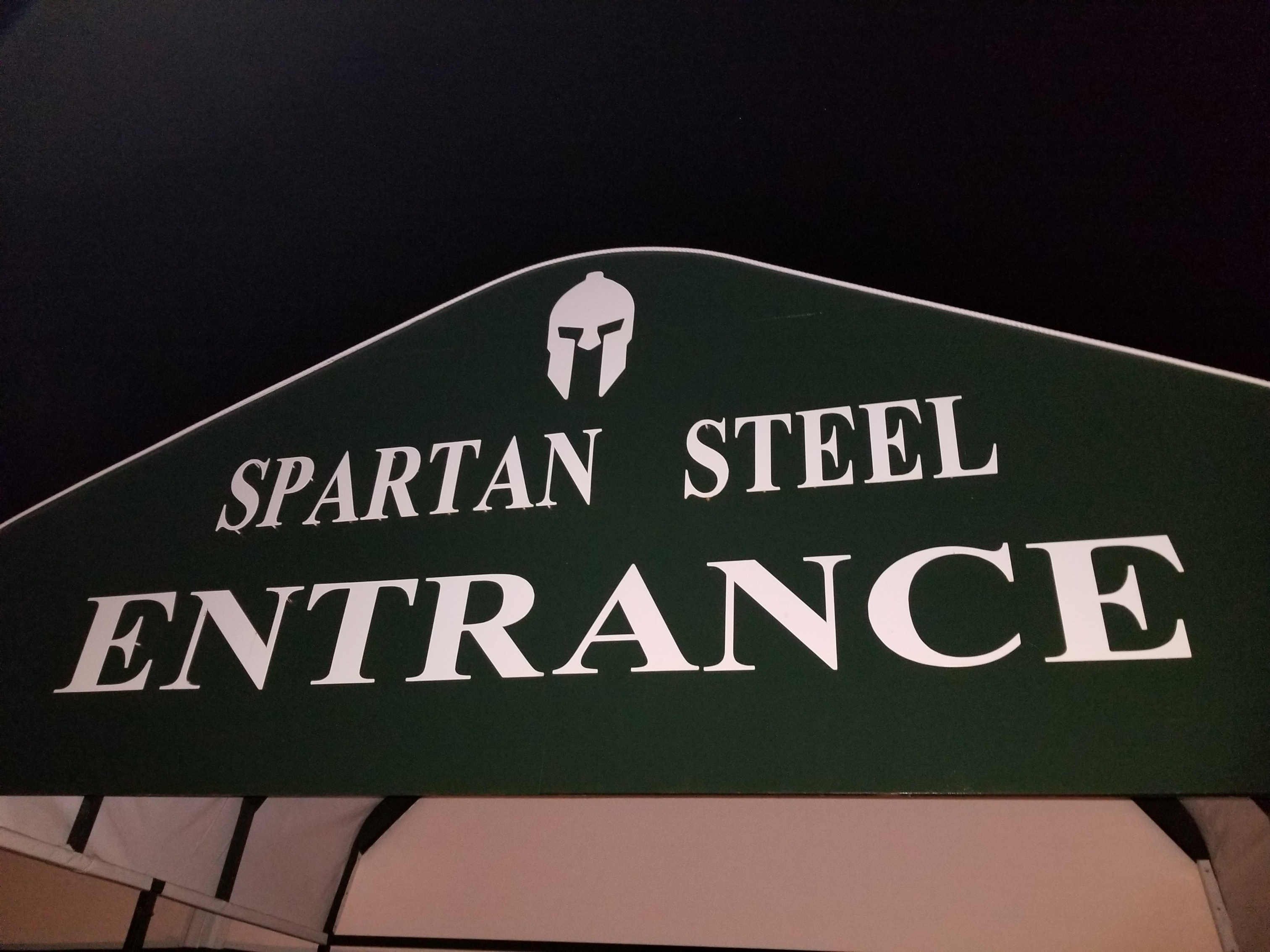 spartan steel entrance