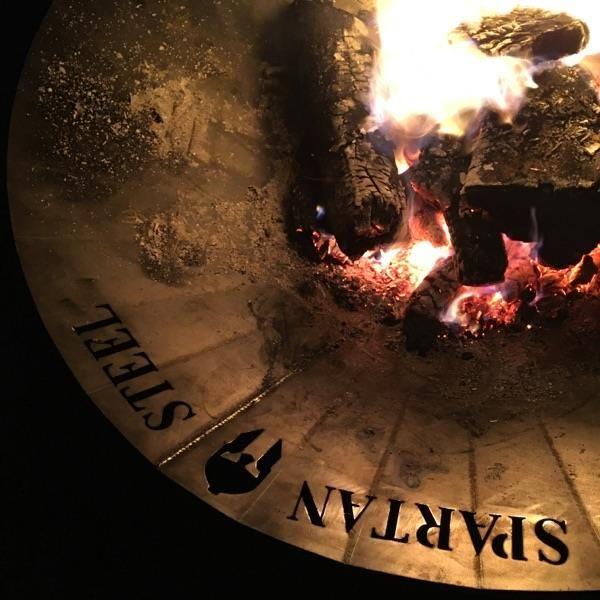 Spartan Steel fire pit